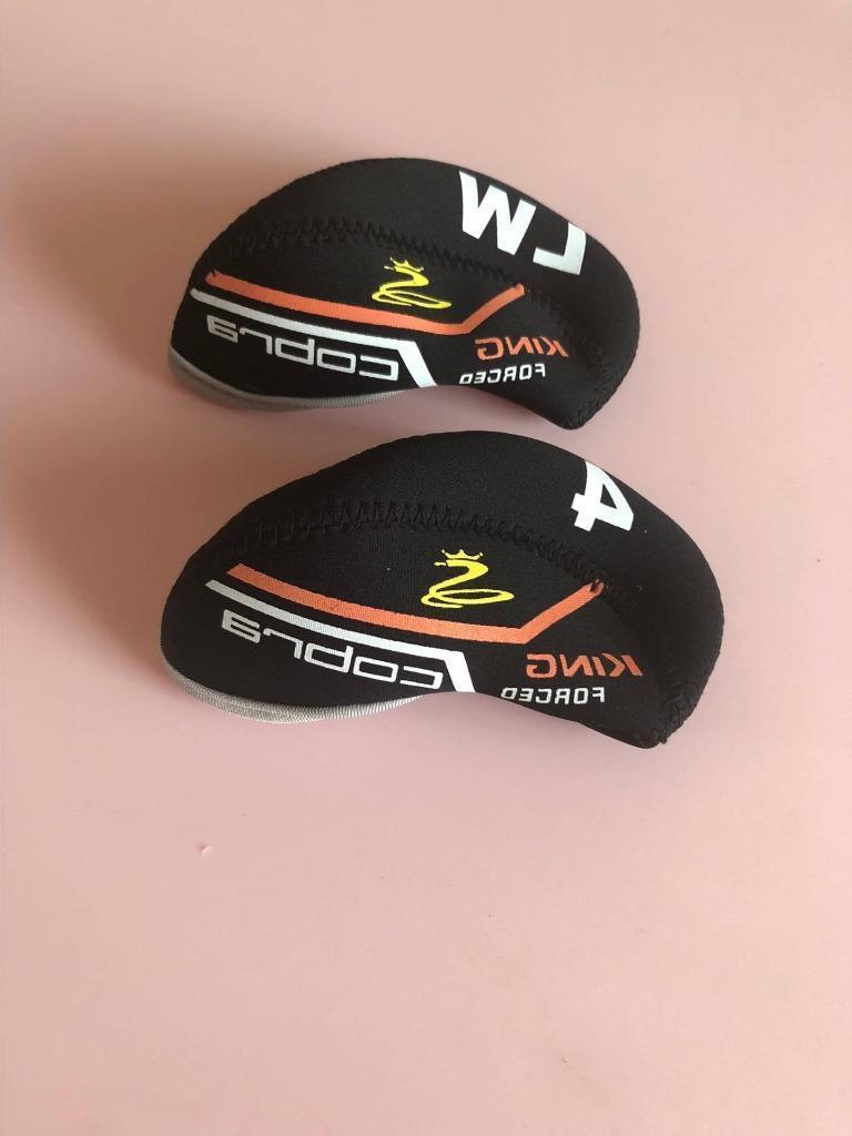 10PCS Golf Iron for Club Covers Black
