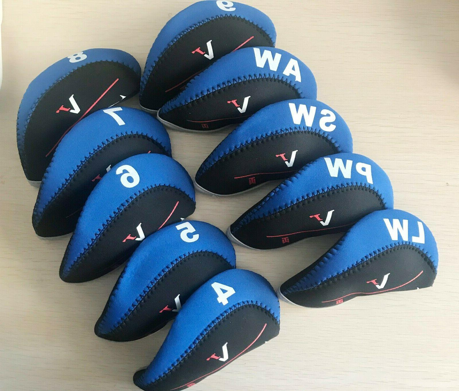 10x golf iron cover headcover fit