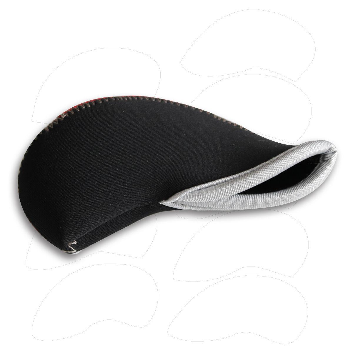 11pcs Iron HeadCovers 4-LW Red&Black Cobra