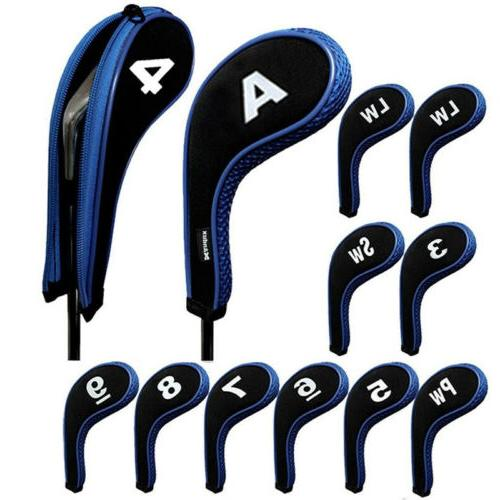 12 Pcs Irons Driver Head with Long Neck