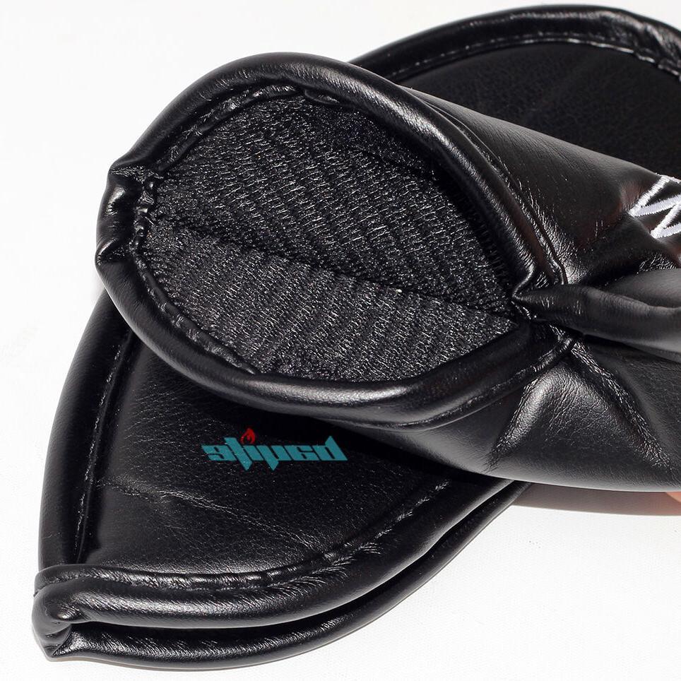 12 PCS Leather Golf Iron Club Putter Set