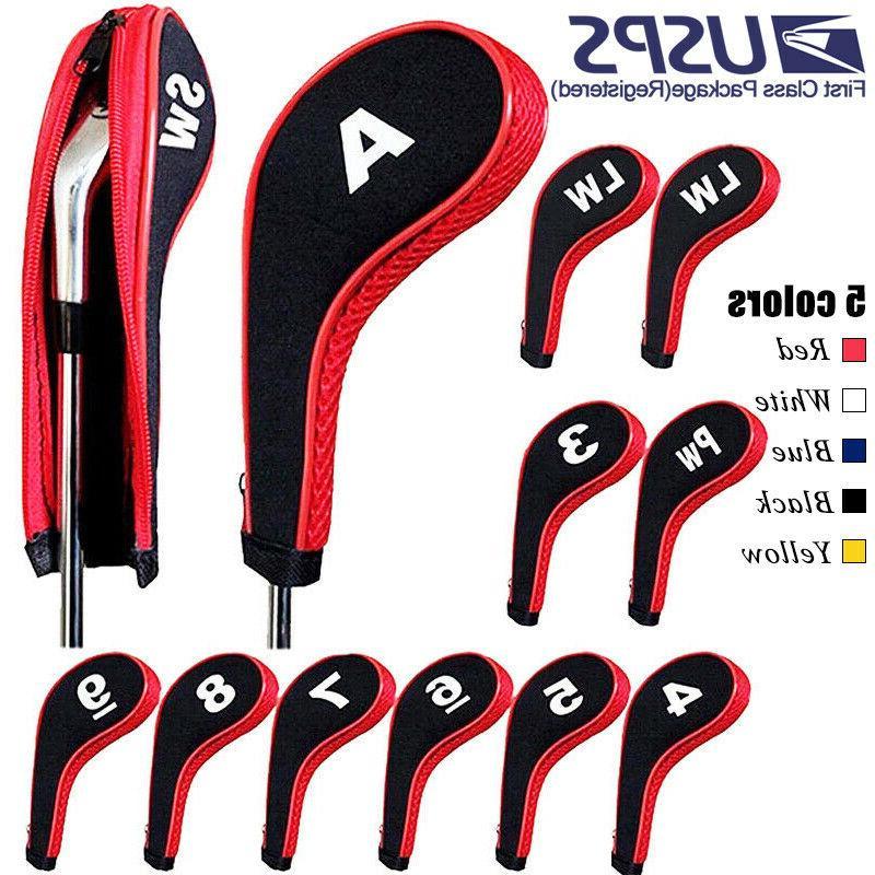 12pcs set golf clubs iron head covers