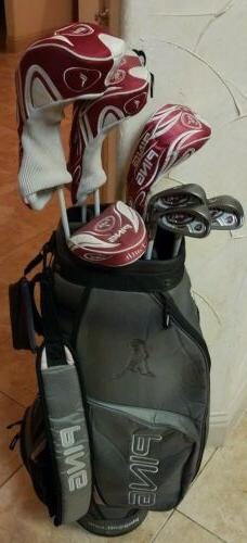 $2000+LADY PING FAITH RH FULL SET OF GOLF CLUBS,Woods, Irons