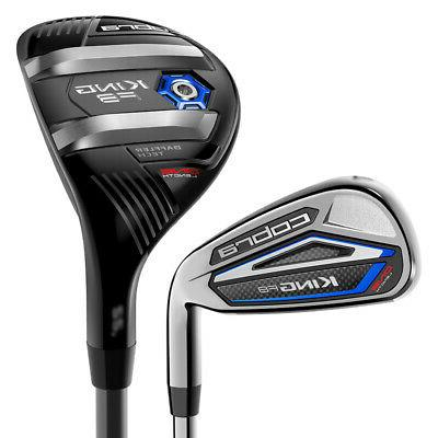 2018 Cobra King F8 One Length Combo Hybrid Iron Set RH 5H, 6