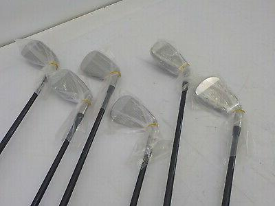Cleveland Golf Launcher Iron, of 6 Clubs, Right Hand