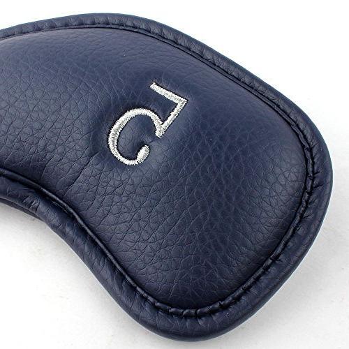 Craftsman 12pcs Synthetic Leather Head Set Fit Titleist, Callaway, Cobra, Nike, Etc.