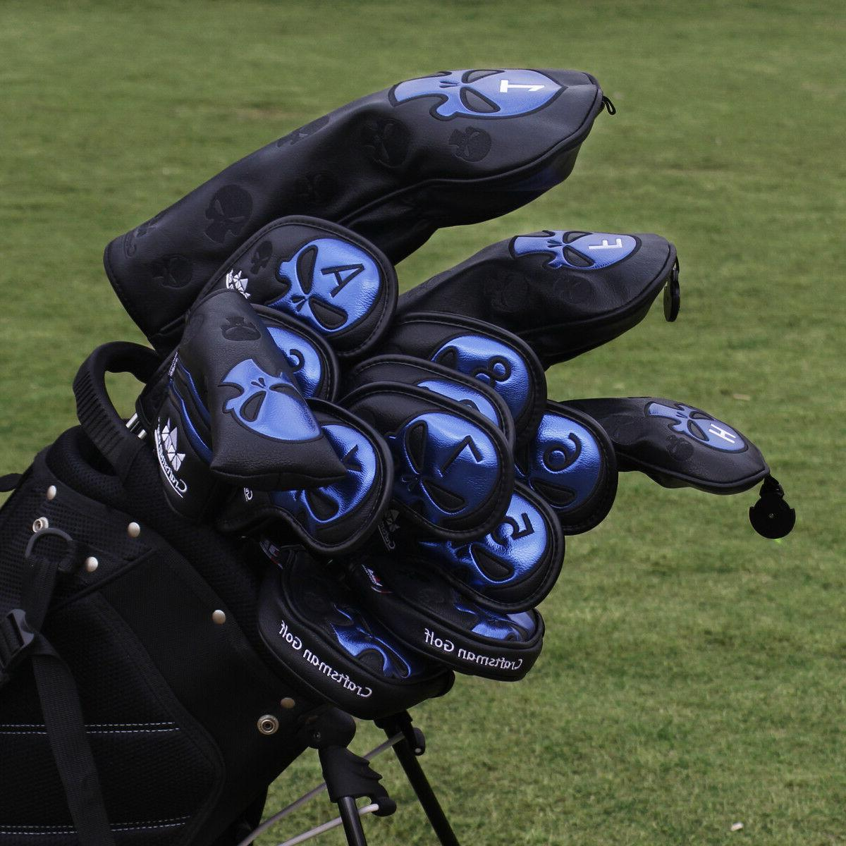 Craftsman Golf Headcover Skull Golf Club Colors