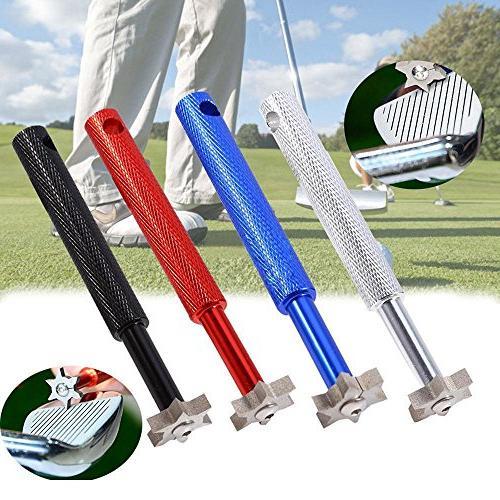 Golf Groove Tool, Golf Groove Edge Iron Wedge Club Sharpener