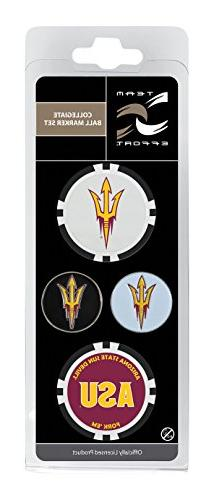 Team Effort Arizona State Sun Devils Ball Marker Set