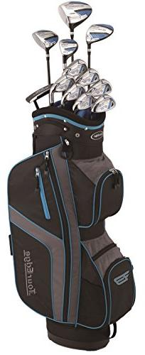 Tour Edge Bazooka Men's 360 Box Set, Right Hand, Black/Blue