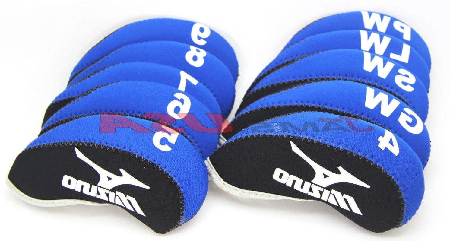 MIZUNO & Black Color Golf Covers Neoprene