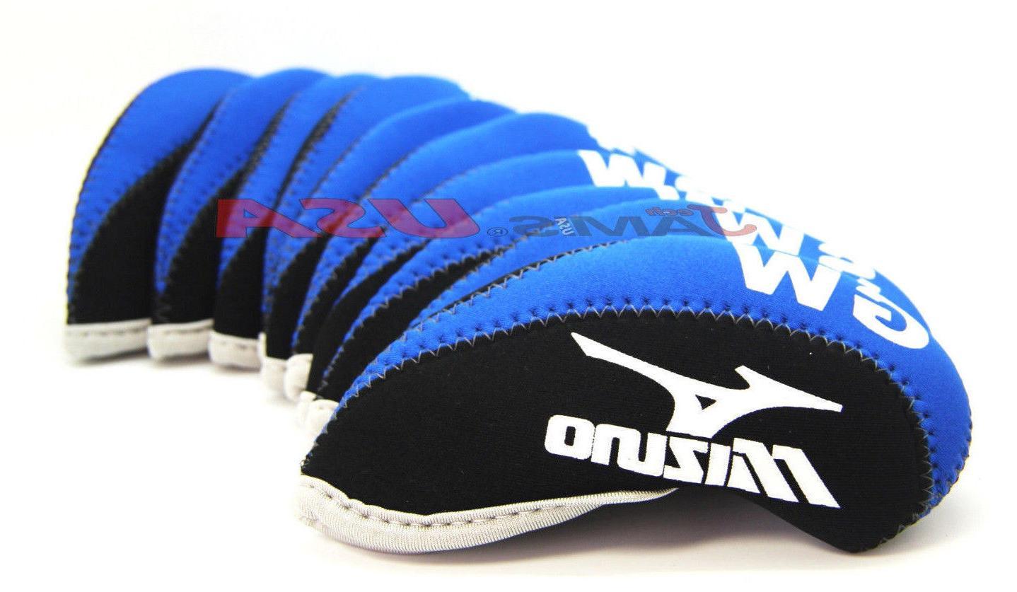 MIZUNO Blue & Black Color 10 Covers Neoprene US