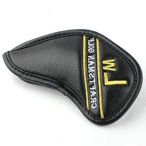Craftsman Black Synthetic Leather Head Covers with get The Needed for Taylormade, Cobra