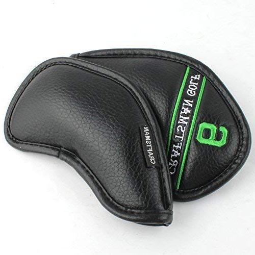 Craftsman Golf Synthetic Head Set with Colorful Embroideried,Easily get Needed for Titleist, Taylormade,