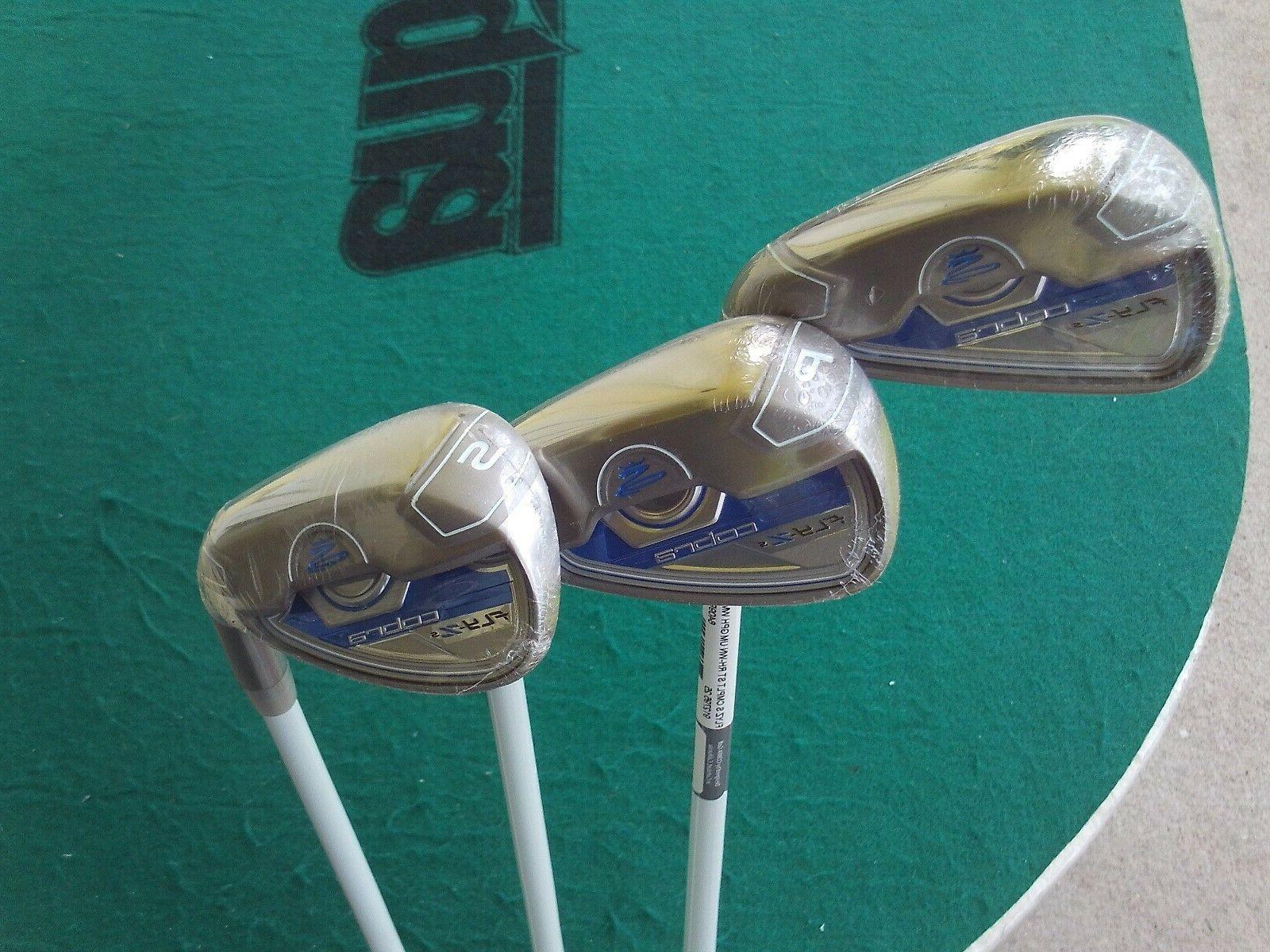 Brand Lady Wedge Set Graphite Golf Club Grips