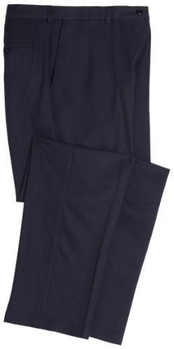 Haggar Men's Cool 18 Hidden Comfort Waist Plain Front Pant,