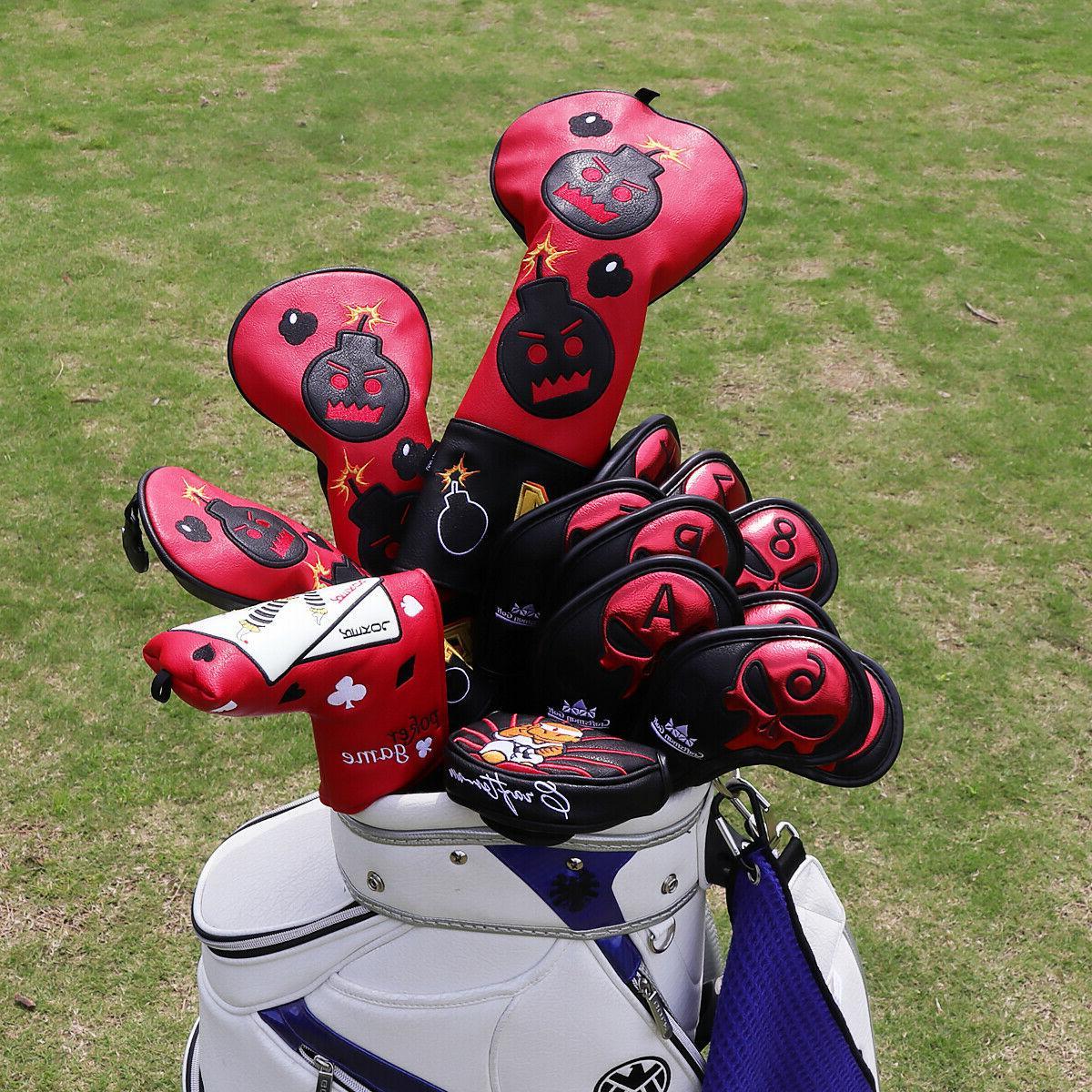 Craftsman Iron Headcover Skull Iron Colors
