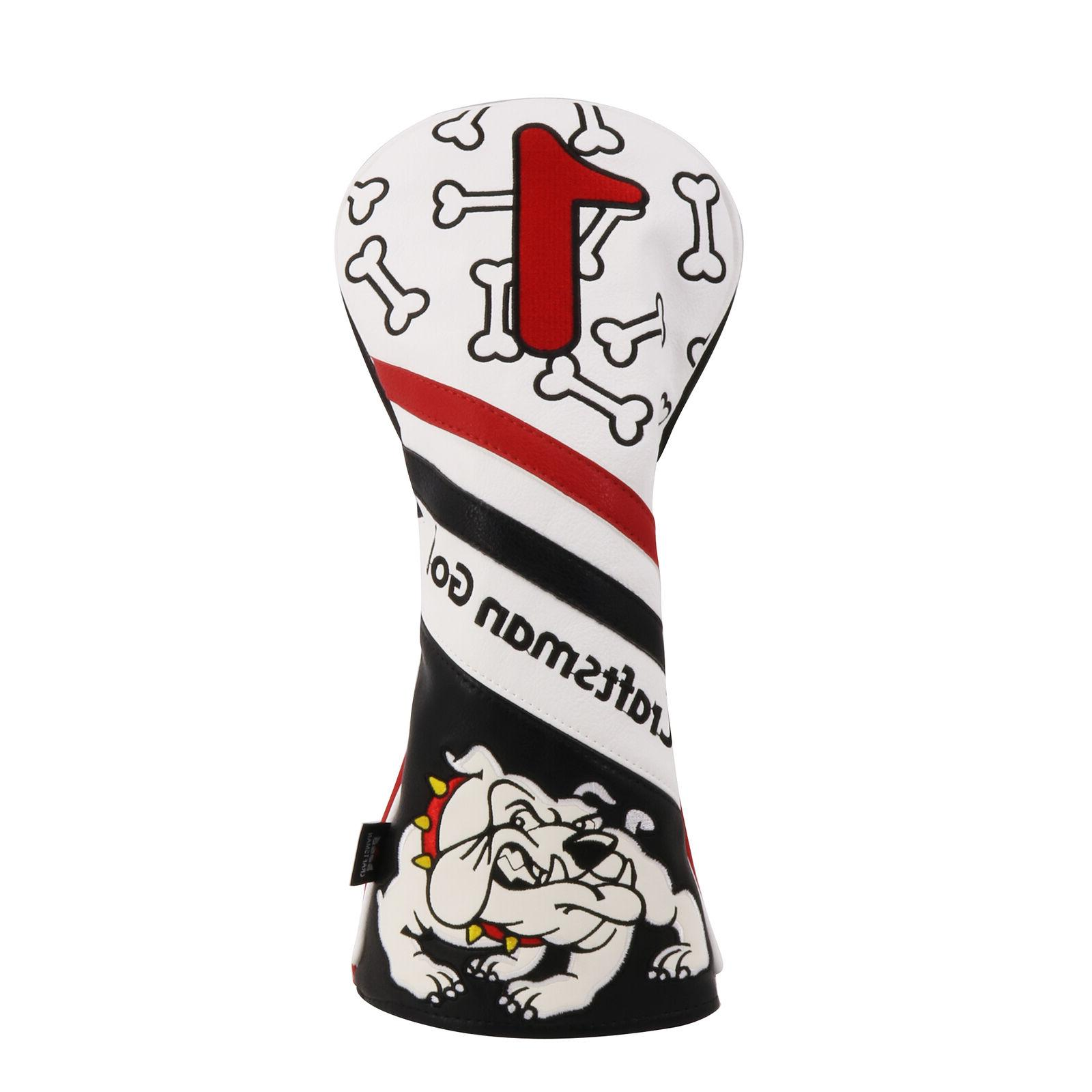 Craftsman Golf America Shield Golf Driver Headcover for Tayl