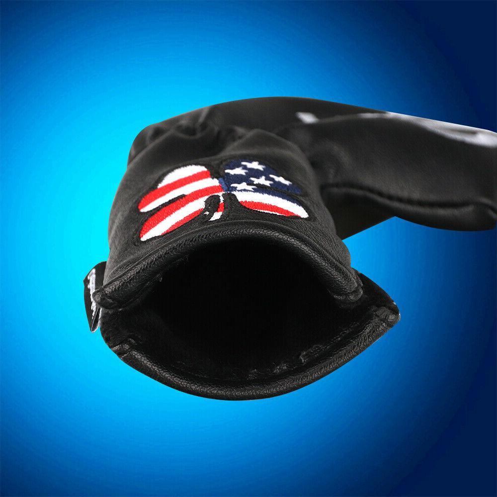 Craftsman Covers Headcovers Black Set 11pcs Flag