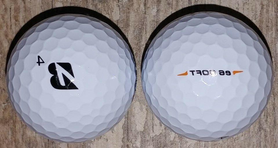 Bridgestone Soft WHITE 2 Dozen Golf Balls FREE Ship