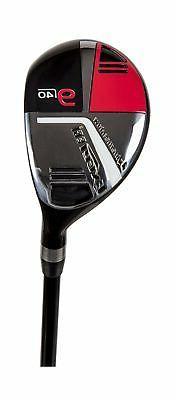 Pinemeadow Golf Men's Excel EGI Hybrid Club, Graphite, 40-De