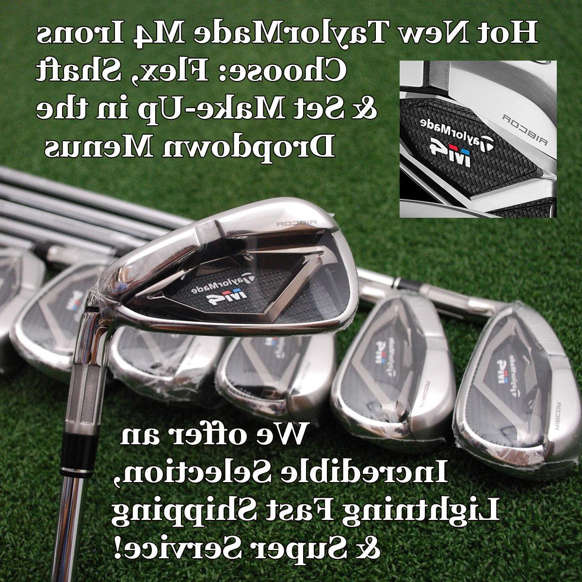 golf 2018 m4 iron sets choose shaft