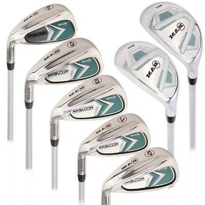 golf accubar ladies right hand graphite iron