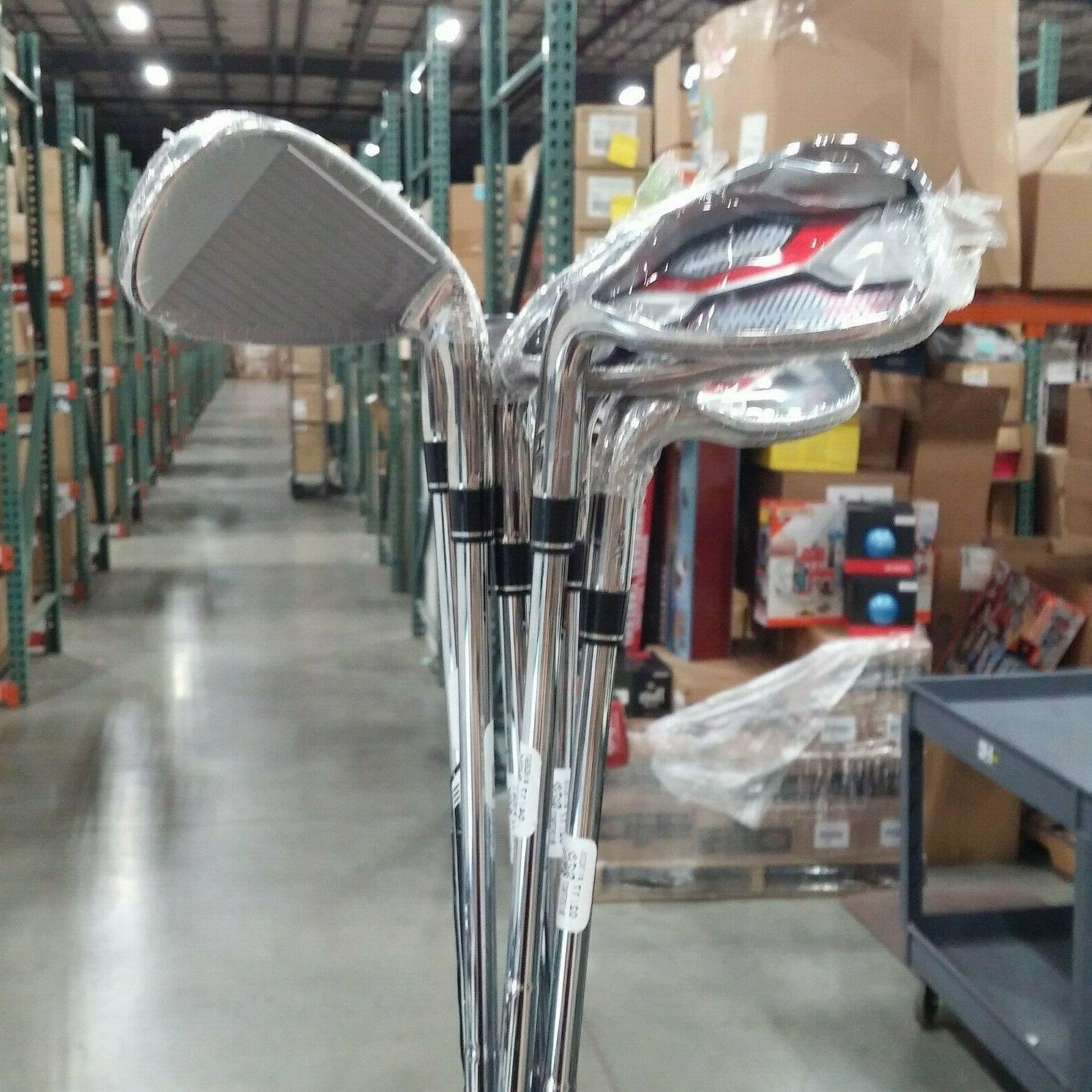 TaylorMade AEROBURNER Irons Steel 4-PW/AW Set -