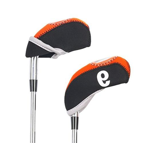 BROTOU Golf Club Covers, Neoprene Material Tag for Wedges-Set of 10pcs