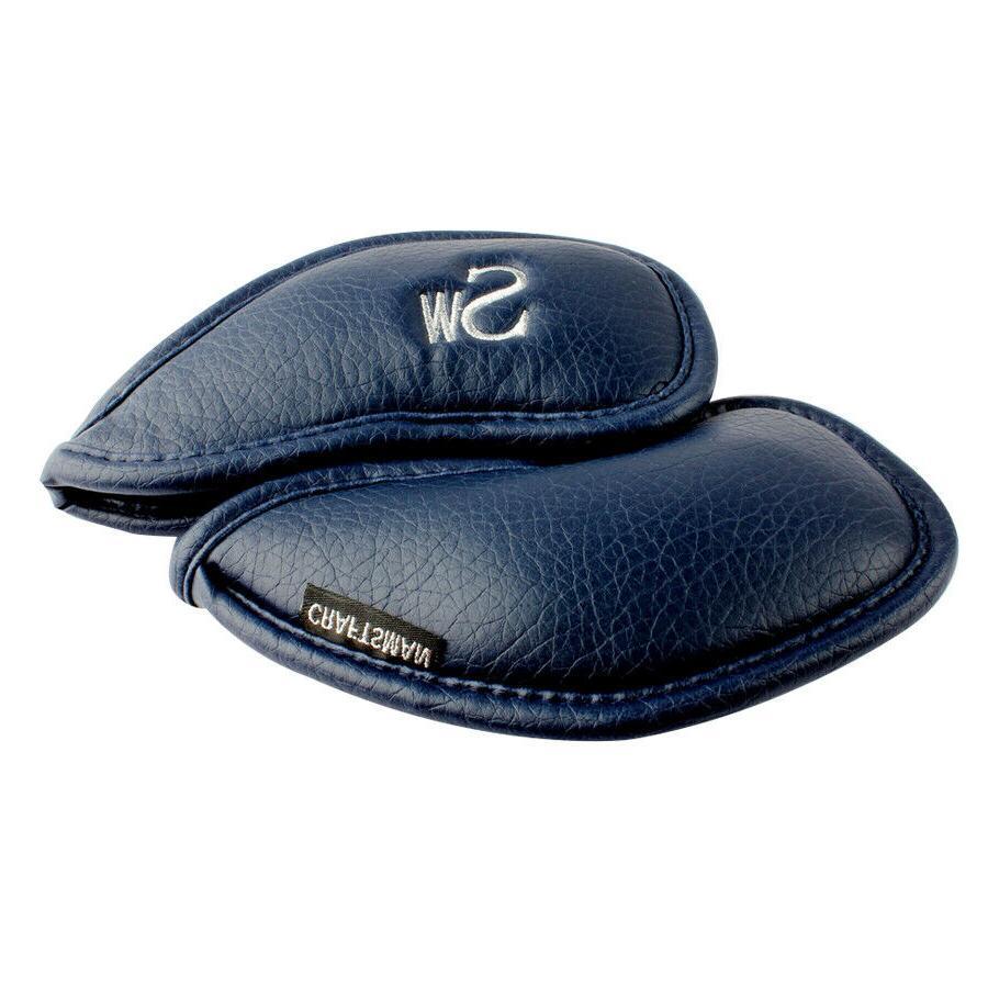 Golf Iron Head Covers 12 PU Leather Mizuno