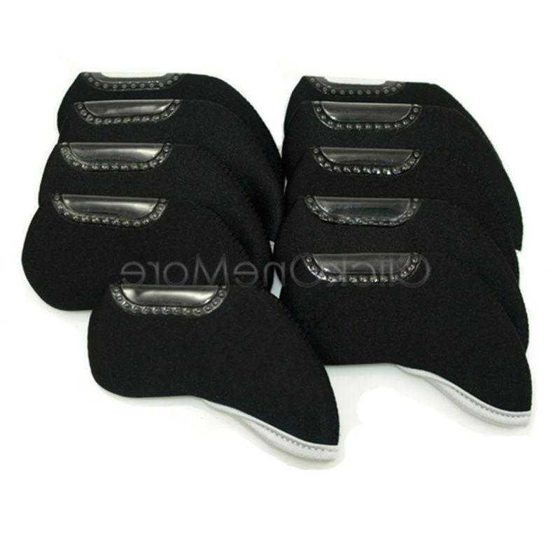 10 Iron Neoprene Case Pocket Set Sport Black