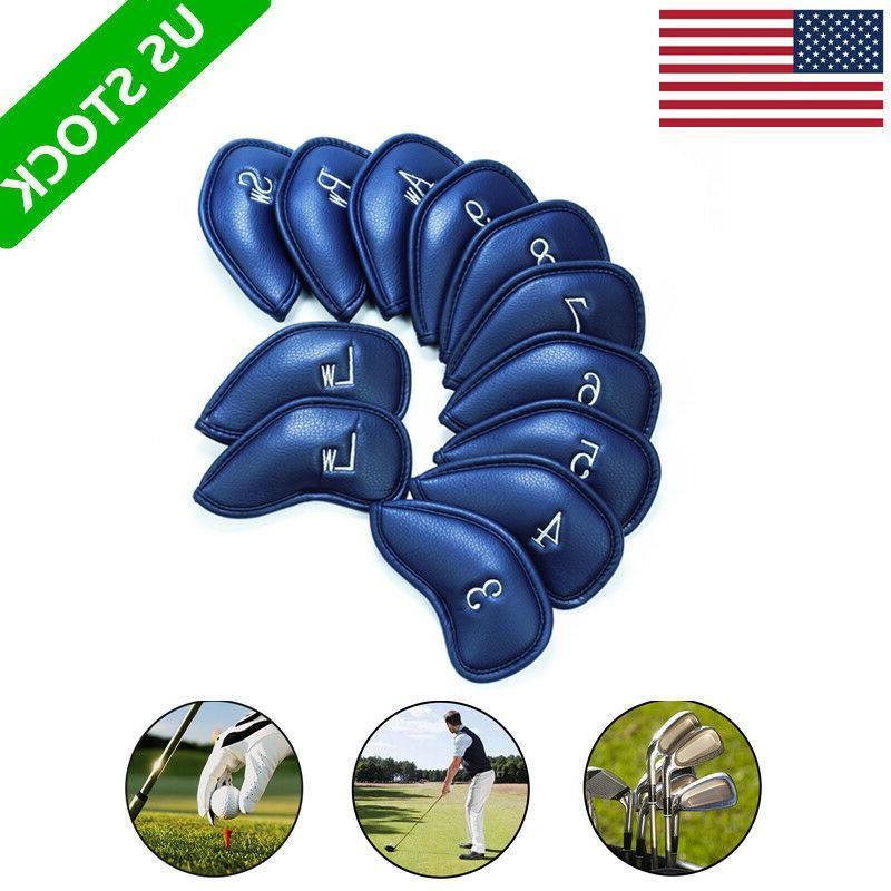 golf club iron headcovers 12 pcs head
