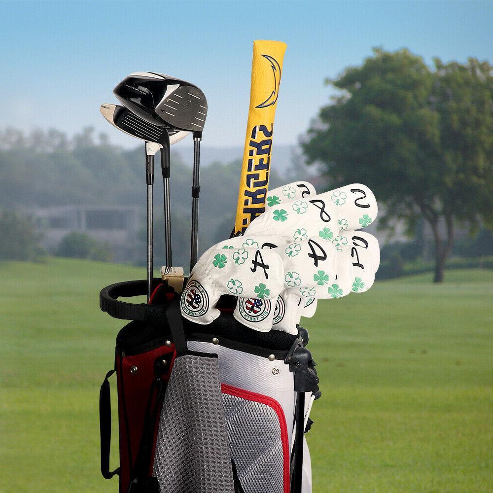 Golf 11Pcs/Set Neck Embroidery