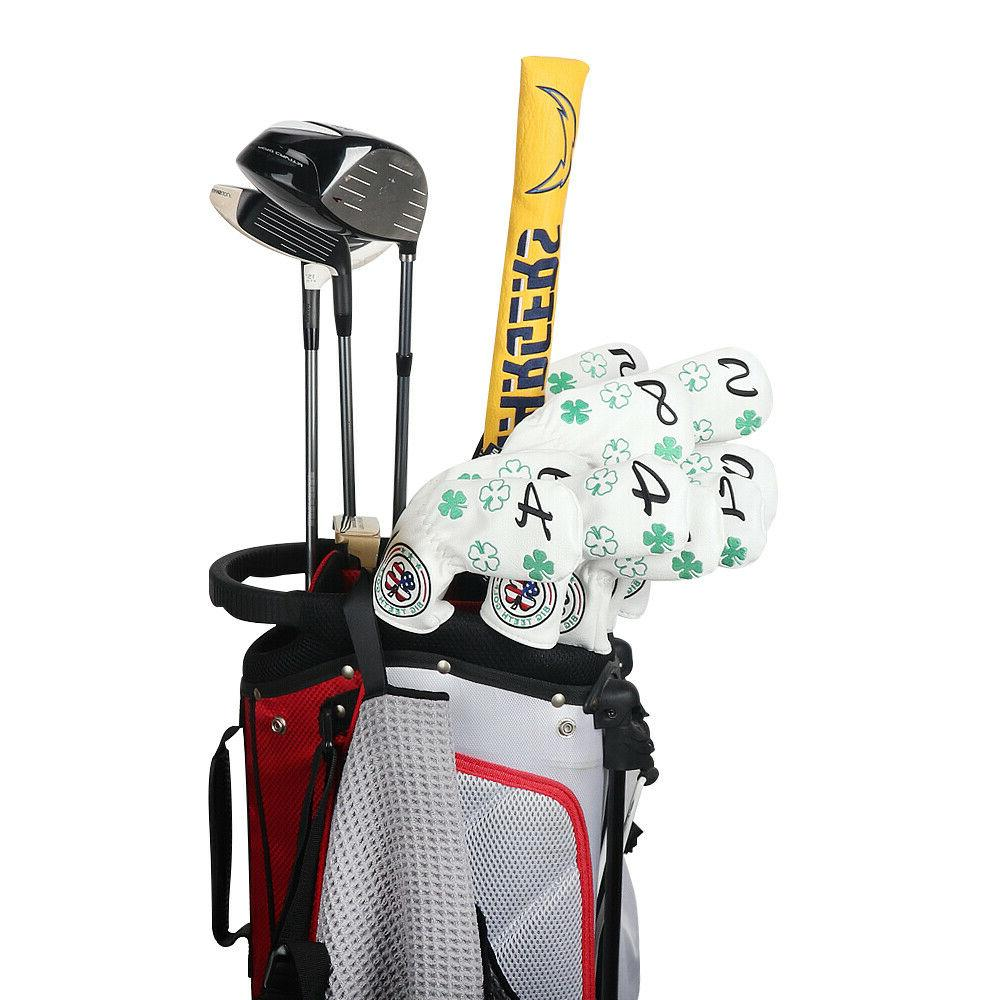 Golf 11Pcs/Set Leather Neck Clover New