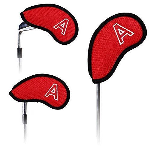 Golf Meshy Head Covers Set Club Protector Wedges for Callaway Cobra G30 G25 M1 Titleist AP2 AP3