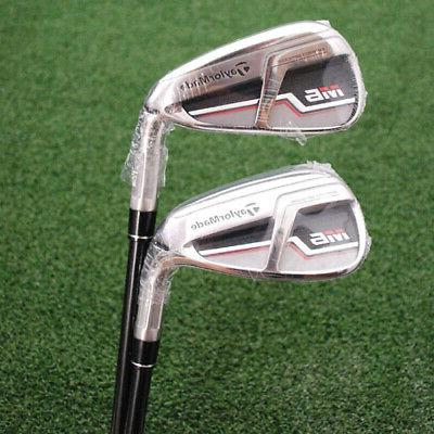 """TaylorMade Combo Iron AND 6-PW Regular """"R"""" Flex - NEW"""