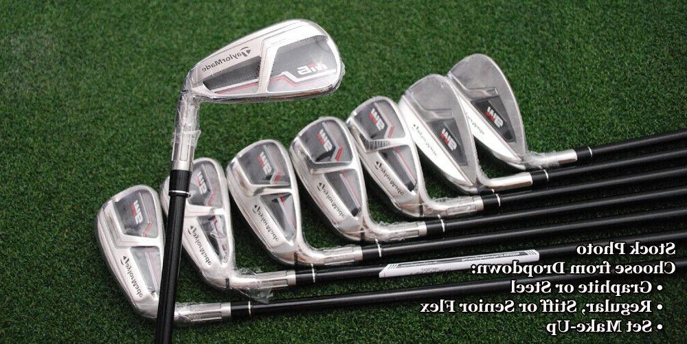 TaylorMade Golf Iron Sets Shaft-Steel/Graphite