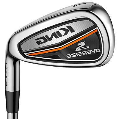 golf men s king oversized irons 4