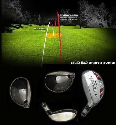 LEFT HAND Golf Club 2 3 4 5 7 8 SW LW Utility iRON