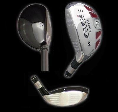 IDRIVE Hybrid Irons Golf Clubs  2 3 4 5 6 7 8 9 PW SW LW - F