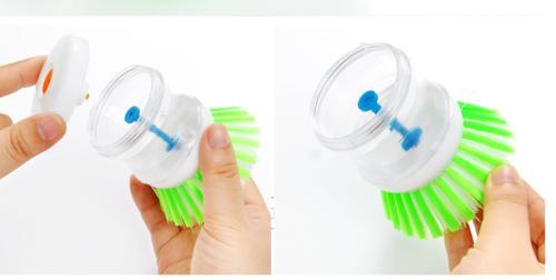 Kitchen Tool Pan Dish Bowl Cleaning Brush Gadget