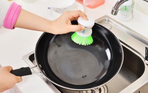 Kitchen Tool Pot Pan Brush Novel Gadget
