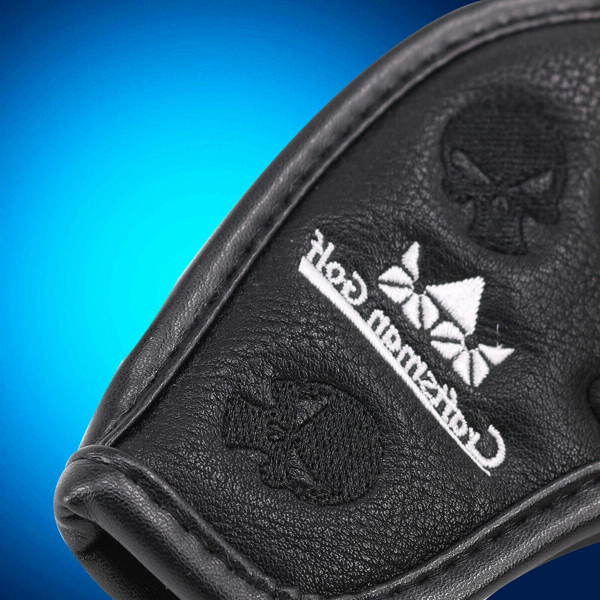 Leather Covers Iron Head Covers for Golf Clubs Taylormade