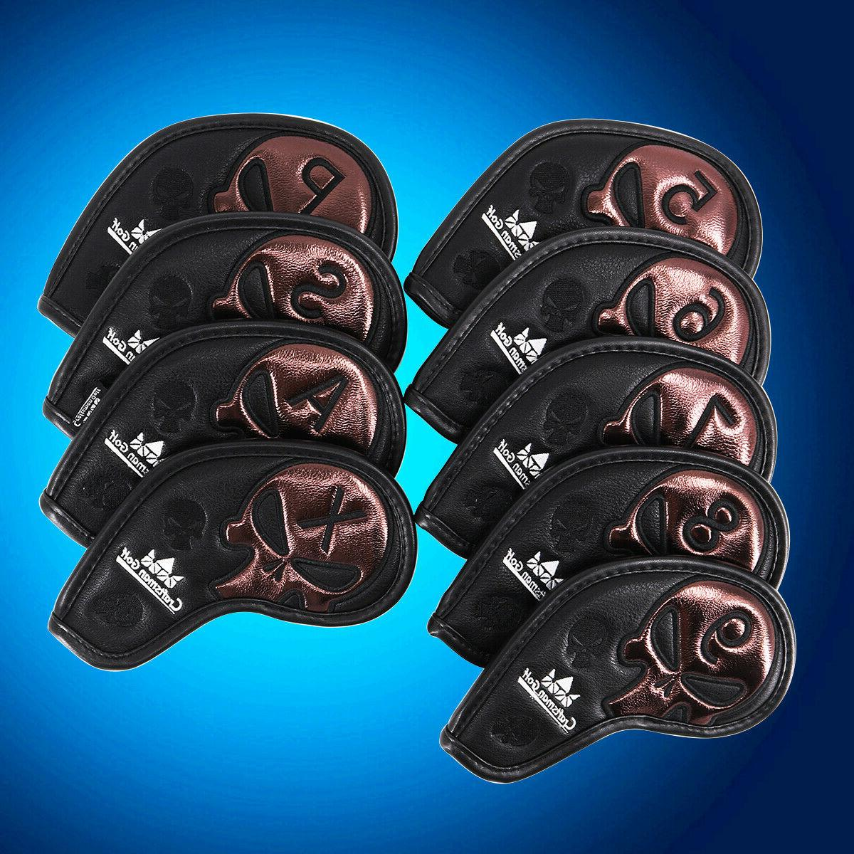 leather iron covers golf iron head covers