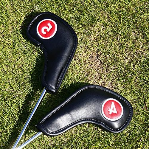 Craftsman Golf Neck Headcovers Extended Both Fit Titleist, Callaway, Ping, Taylormade, Etc. Closure