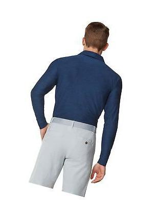 Men's Fit Sleeve Golf Shirt, Moisture Protection