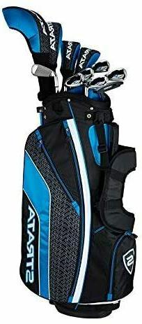 Callaway Men's Strata Ultimate Complete Golf Set 16-Piece Ri