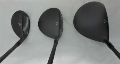Mens Callaway Complete Set Driver, Wood, Hybrid, Irons