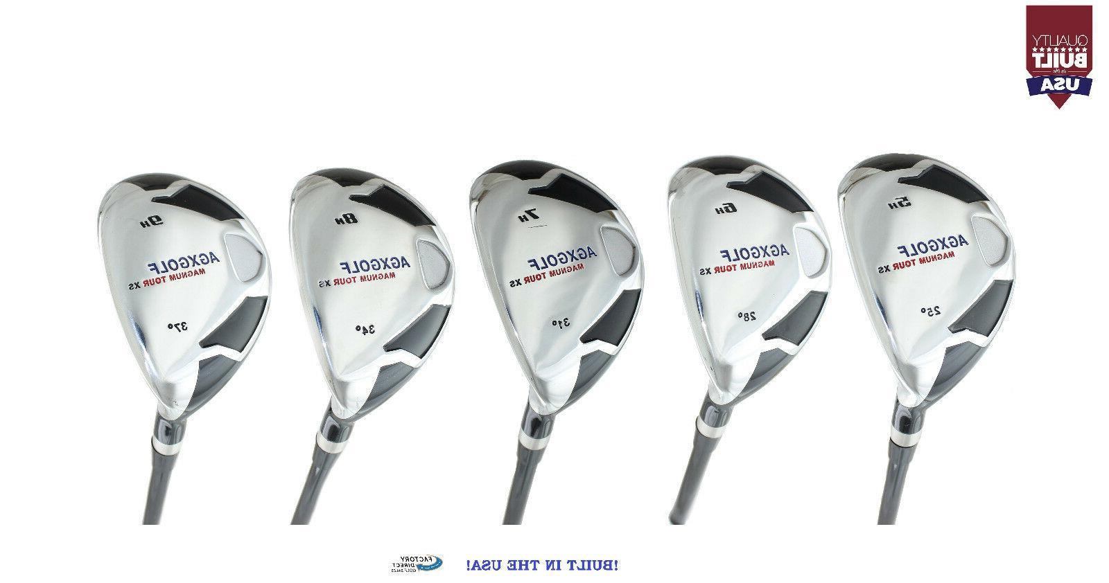 AGXGOLF XS Ladies Edition Hybrid Irons Set #5,6,7,8 & 9 RH w