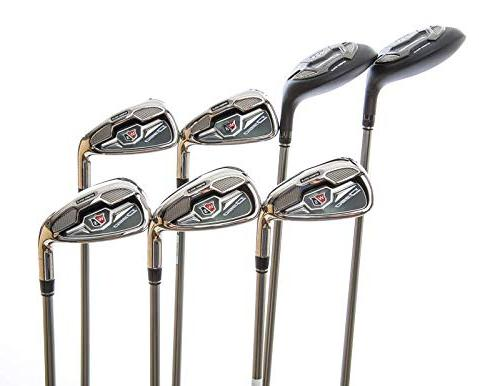 Mint Wilson Staff D350 Combo Iron Set Graphite Handed 37.75
